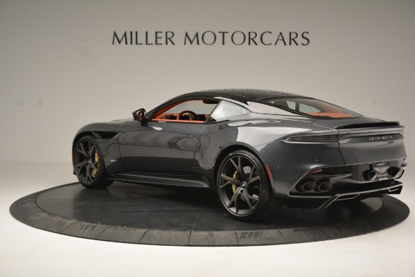 Used 2019 Aston Martin DBS Superleggera Coupe for sale $265,900 at Rolls-Royce Motor Cars Greenwich in Greenwich CT 06830 4