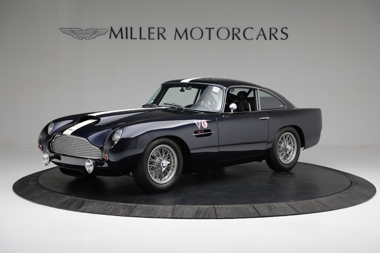 New 2018 Aston Martin DB4 GT for sale Call for price at Rolls-Royce Motor Cars Greenwich in Greenwich CT 06830 1