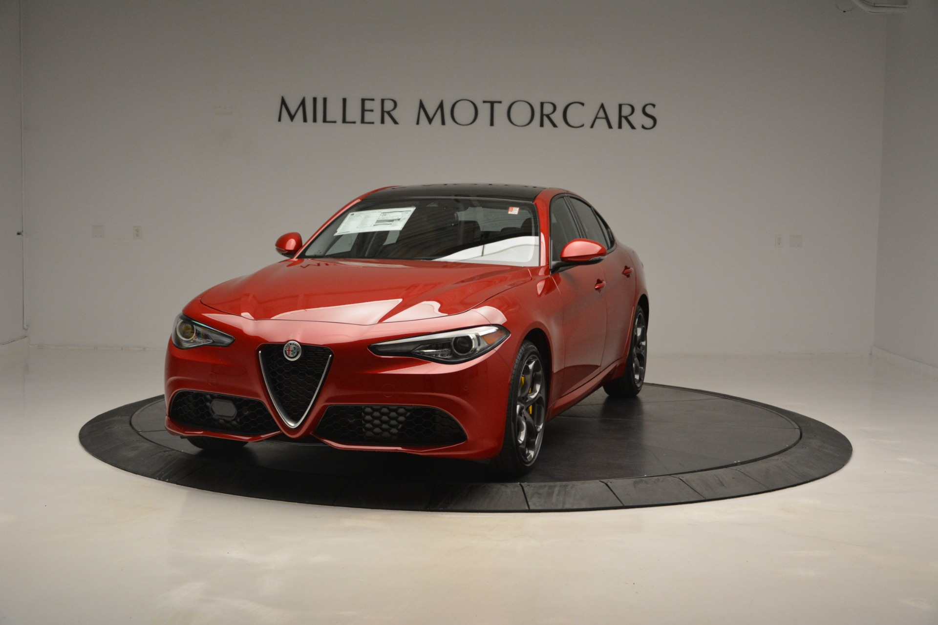 New 2019 Alfa Romeo Giulia Ti Sport Q4 for sale Sold at Rolls-Royce Motor Cars Greenwich in Greenwich CT 06830 1