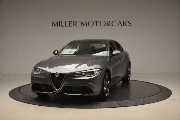 New 2019 Alfa Romeo Giulia Ti Sport Q4 for sale Sold at Rolls-Royce Motor Cars Greenwich in Greenwich CT 06830 1