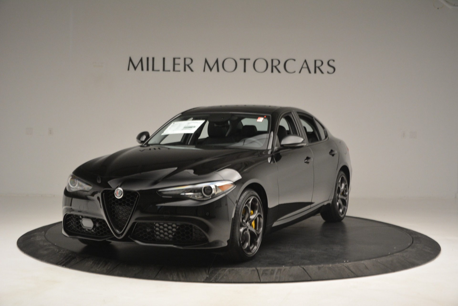 New 2019 Alfa Romeo Giulia Ti Q4 for sale Sold at Rolls-Royce Motor Cars Greenwich in Greenwich CT 06830 1