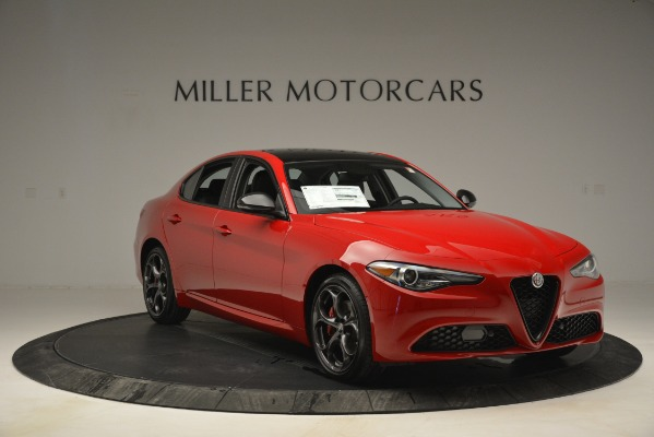 New 2019 Alfa Romeo Giulia Ti Q4 for sale $46,590 at Rolls-Royce Motor Cars Greenwich in Greenwich CT 06830 11
