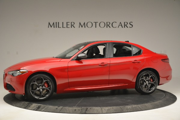 New 2019 Alfa Romeo Giulia Ti Q4 for sale $46,590 at Rolls-Royce Motor Cars Greenwich in Greenwich CT 06830 2
