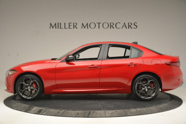 New 2019 Alfa Romeo Giulia Ti Q4 for sale $46,590 at Rolls-Royce Motor Cars Greenwich in Greenwich CT 06830 3