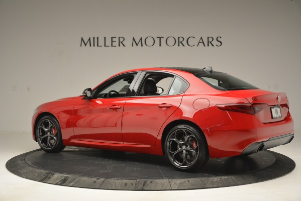 New 2019 Alfa Romeo Giulia Ti Q4 for sale $46,590 at Rolls-Royce Motor Cars Greenwich in Greenwich CT 06830 4