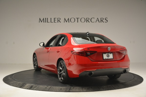 New 2019 Alfa Romeo Giulia Ti Q4 for sale $46,590 at Rolls-Royce Motor Cars Greenwich in Greenwich CT 06830 5