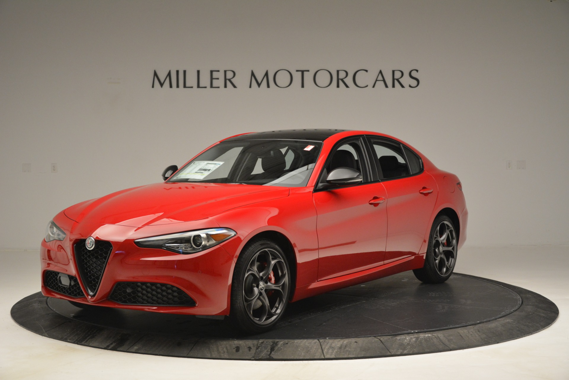 New 2019 Alfa Romeo Giulia Ti Q4 for sale $46,590 at Rolls-Royce Motor Cars Greenwich in Greenwich CT 06830 1