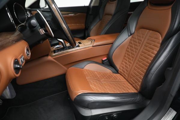New 2019 Maserati Quattroporte S Q4 GranLusso Edizione Nobile for sale Sold at Rolls-Royce Motor Cars Greenwich in Greenwich CT 06830 14