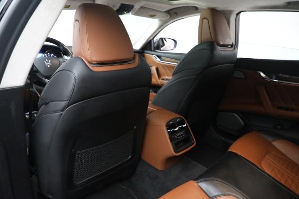 New 2019 Maserati Quattroporte S Q4 GranLusso Edizione Nobile for sale Sold at Rolls-Royce Motor Cars Greenwich in Greenwich CT 06830 19
