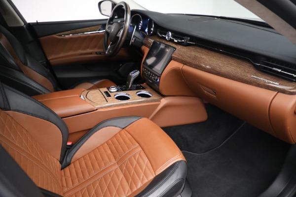 New 2019 Maserati Quattroporte S Q4 GranLusso Edizione Nobile for sale Sold at Rolls-Royce Motor Cars Greenwich in Greenwich CT 06830 20