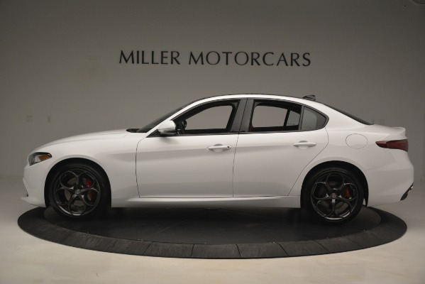 New 2019 Alfa Romeo Giulia Ti Sport Q4 for sale Sold at Rolls-Royce Motor Cars Greenwich in Greenwich CT 06830 3