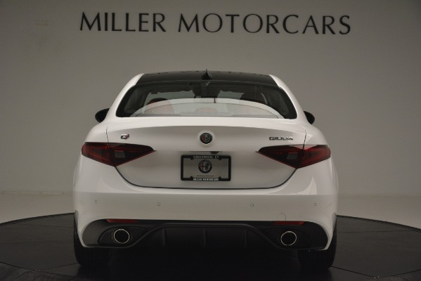New 2019 Alfa Romeo Giulia Ti Sport Q4 for sale Sold at Rolls-Royce Motor Cars Greenwich in Greenwich CT 06830 6