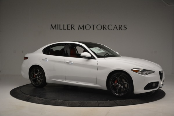 New 2019 Alfa Romeo Giulia Ti Sport Q4 for sale Sold at Rolls-Royce Motor Cars Greenwich in Greenwich CT 06830 10