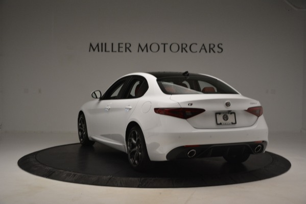 New 2019 Alfa Romeo Giulia Ti Sport Q4 for sale Sold at Rolls-Royce Motor Cars Greenwich in Greenwich CT 06830 5