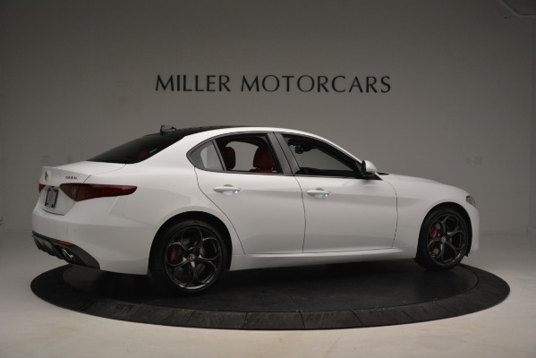 New 2019 Alfa Romeo Giulia Ti Sport Q4 for sale Sold at Rolls-Royce Motor Cars Greenwich in Greenwich CT 06830 8