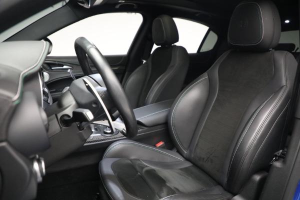 New 2019 Alfa Romeo Stelvio Quadrifoglio for sale Sold at Rolls-Royce Motor Cars Greenwich in Greenwich CT 06830 15