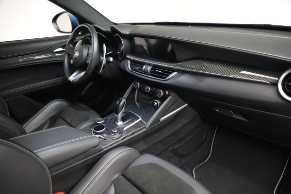 New 2019 Alfa Romeo Stelvio Quadrifoglio for sale Sold at Rolls-Royce Motor Cars Greenwich in Greenwich CT 06830 20