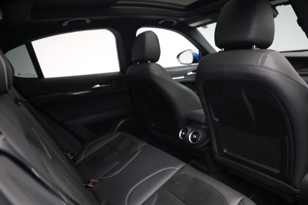 New 2019 Alfa Romeo Stelvio Quadrifoglio for sale Sold at Rolls-Royce Motor Cars Greenwich in Greenwich CT 06830 28