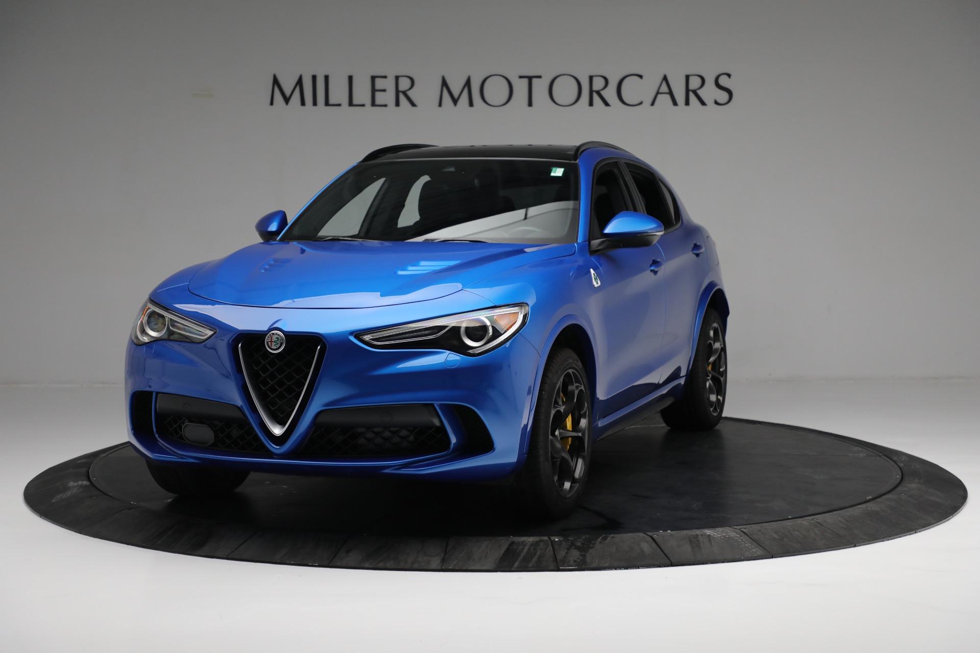 New 2019 Alfa Romeo Stelvio Quadrifoglio for sale Sold at Rolls-Royce Motor Cars Greenwich in Greenwich CT 06830 1