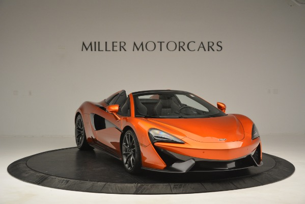 New 2019 McLaren 570S Spider Convertible for sale Sold at Rolls-Royce Motor Cars Greenwich in Greenwich CT 06830 11