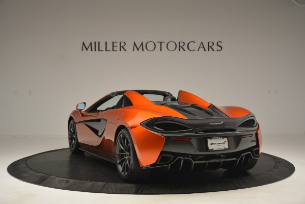New 2019 McLaren 570S Spider Convertible for sale Sold at Rolls-Royce Motor Cars Greenwich in Greenwich CT 06830 5