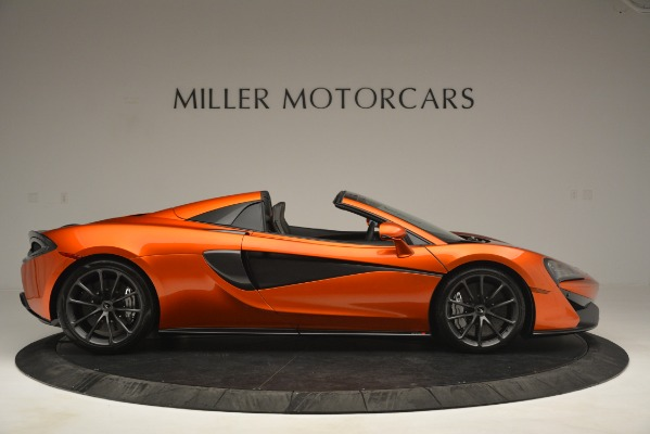 New 2019 McLaren 570S Spider Convertible for sale Sold at Rolls-Royce Motor Cars Greenwich in Greenwich CT 06830 9