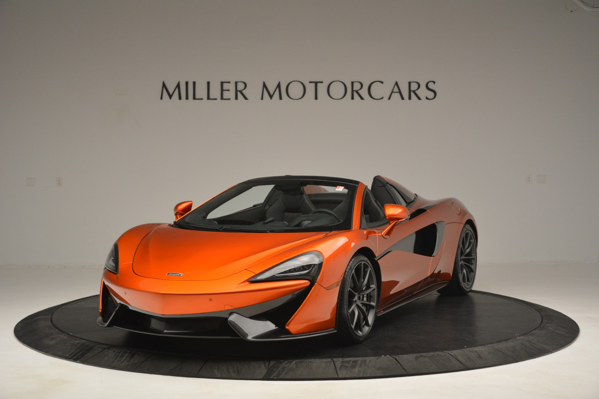 New 2019 McLaren 570S Spider Convertible for sale Sold at Rolls-Royce Motor Cars Greenwich in Greenwich CT 06830 1