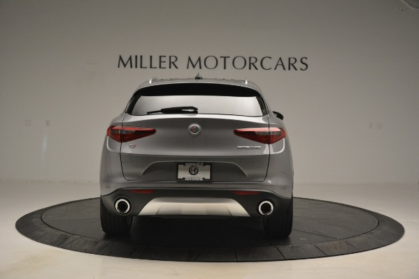New 2019 Alfa Romeo Stelvio Ti Lusso Q4 for sale Sold at Rolls-Royce Motor Cars Greenwich in Greenwich CT 06830 6