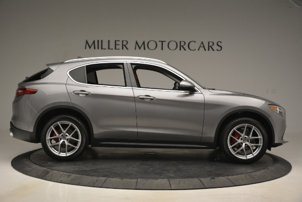New 2019 Alfa Romeo Stelvio Ti Lusso Q4 for sale Sold at Rolls-Royce Motor Cars Greenwich in Greenwich CT 06830 9