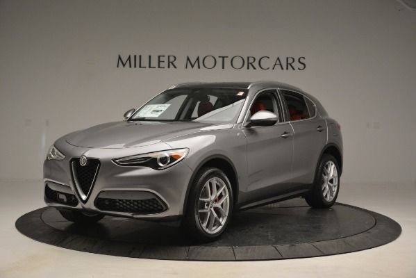 New 2019 Alfa Romeo Stelvio Ti Lusso Q4 for sale Sold at Rolls-Royce Motor Cars Greenwich in Greenwich CT 06830 1