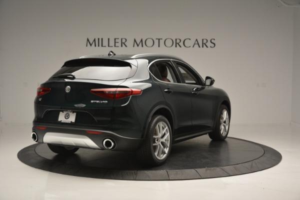 New 2019 Alfa Romeo Stelvio Ti Q4 for sale Sold at Rolls-Royce Motor Cars Greenwich in Greenwich CT 06830 8