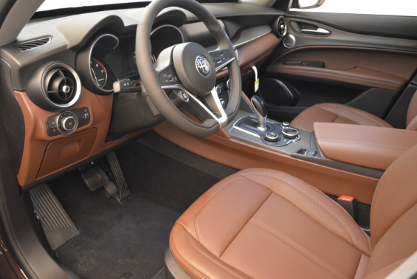 New 2019 Alfa Romeo Stelvio Ti Q4 for sale Sold at Rolls-Royce Motor Cars Greenwich in Greenwich CT 06830 9