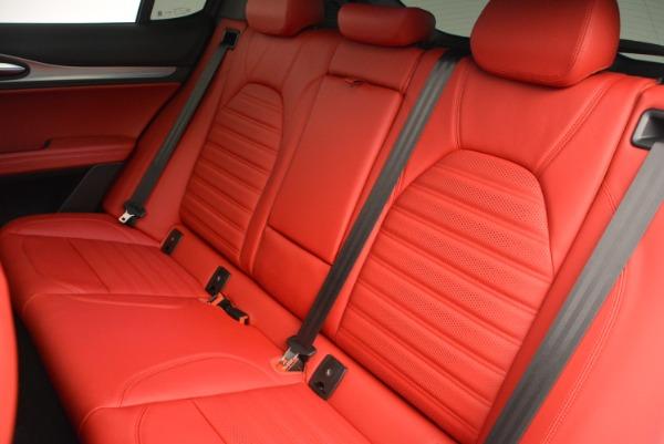 New 2019 Alfa Romeo Stelvio Ti Sport Q4 for sale Sold at Rolls-Royce Motor Cars Greenwich in Greenwich CT 06830 18