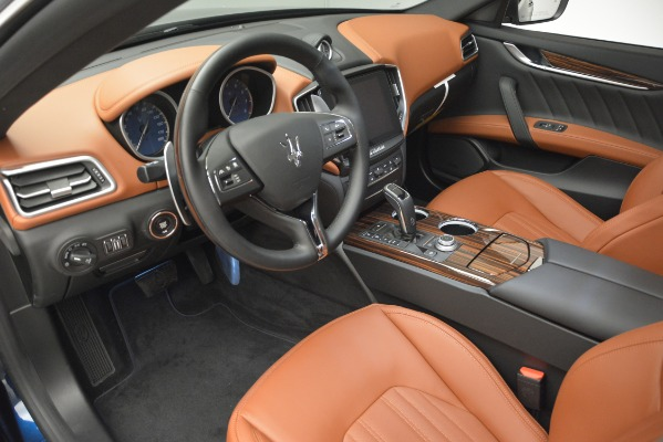 New 2019 Maserati Ghibli S Q4 GranLusso for sale Sold at Rolls-Royce Motor Cars Greenwich in Greenwich CT 06830 19