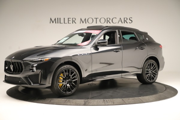 New 2019 Maserati Levante Trofeo for sale Sold at Rolls-Royce Motor Cars Greenwich in Greenwich CT 06830 2