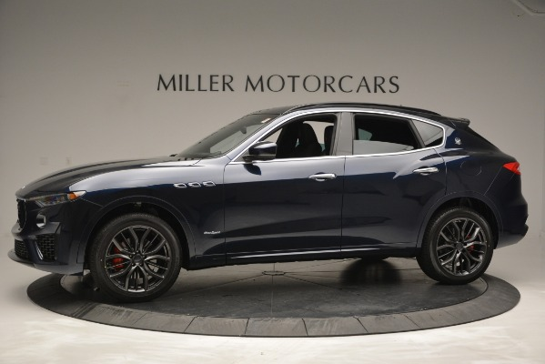 New 2019 Maserati Levante Q4 GranSport for sale Sold at Rolls-Royce Motor Cars Greenwich in Greenwich CT 06830 3