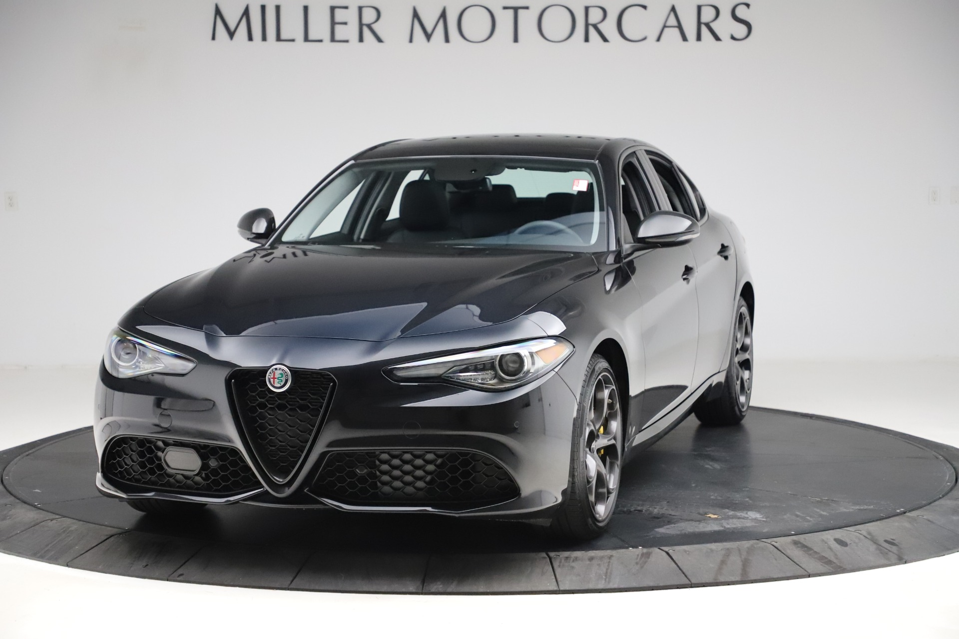 Used 2019 Alfa Romeo Giulia Sport Q4 for sale Sold at Rolls-Royce Motor Cars Greenwich in Greenwich CT 06830 1