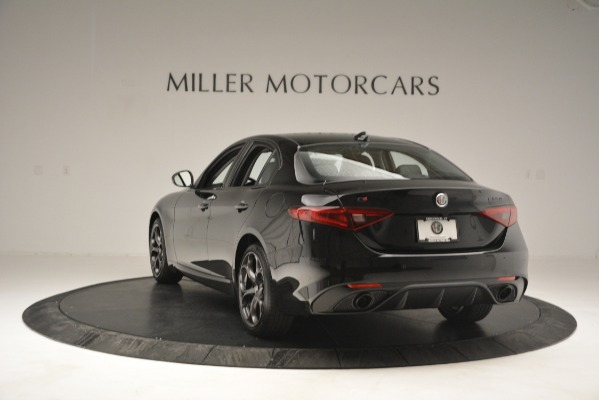 New 2019 Alfa Romeo Giulia Sport Q4 for sale Sold at Rolls-Royce Motor Cars Greenwich in Greenwich CT 06830 5