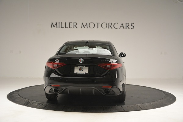 New 2019 Alfa Romeo Giulia Sport Q4 for sale Sold at Rolls-Royce Motor Cars Greenwich in Greenwich CT 06830 6