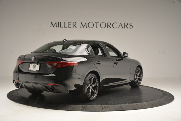 New 2019 Alfa Romeo Giulia Sport Q4 for sale Sold at Rolls-Royce Motor Cars Greenwich in Greenwich CT 06830 7