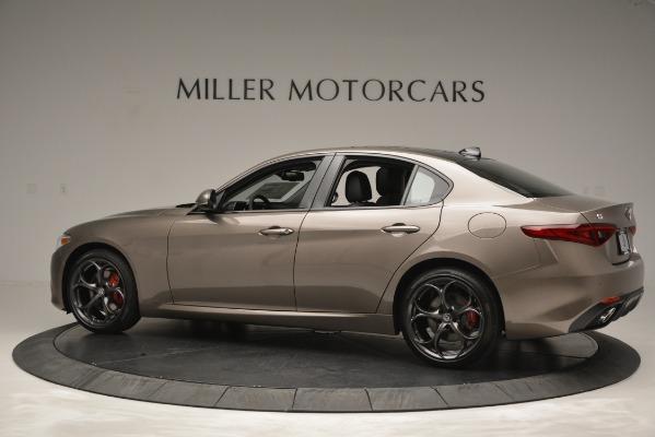New 2019 Alfa Romeo Giulia Ti Sport Q4 for sale Sold at Rolls-Royce Motor Cars Greenwich in Greenwich CT 06830 5