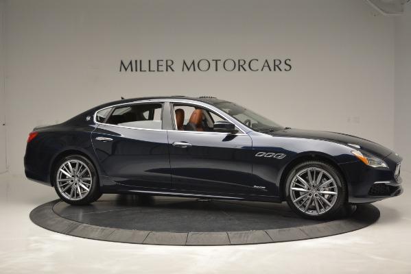 New 2019 Maserati Quattroporte S Q4 GranLusso Edizione Nobile for sale Sold at Rolls-Royce Motor Cars Greenwich in Greenwich CT 06830 15