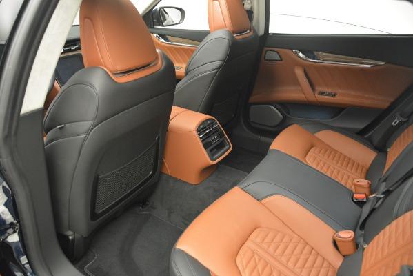 New 2019 Maserati Quattroporte S Q4 GranLusso Edizione Nobile for sale Sold at Rolls-Royce Motor Cars Greenwich in Greenwich CT 06830 23