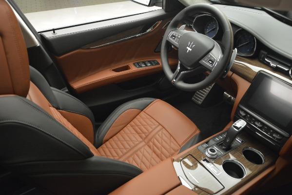 New 2019 Maserati Quattroporte S Q4 GranLusso Edizione Nobile for sale Sold at Rolls-Royce Motor Cars Greenwich in Greenwich CT 06830 26