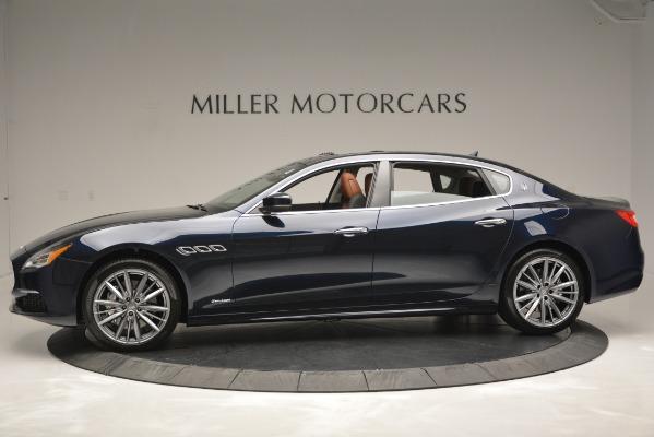 New 2019 Maserati Quattroporte S Q4 GranLusso Edizione Nobile for sale Sold at Rolls-Royce Motor Cars Greenwich in Greenwich CT 06830 4