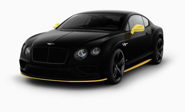 New 2017 Bentley Continental GT Speed Black Edition for sale Sold at Rolls-Royce Motor Cars Greenwich in Greenwich CT 06830 1