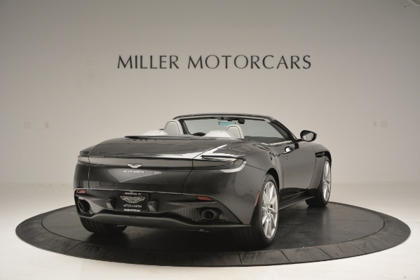 New 2019 Aston Martin DB11 V8 Convertible for sale Sold at Rolls-Royce Motor Cars Greenwich in Greenwich CT 06830 7