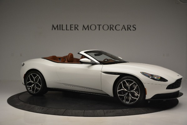 Used 2019 Aston Martin DB11 V8 Convertible for sale Sold at Rolls-Royce Motor Cars Greenwich in Greenwich CT 06830 10