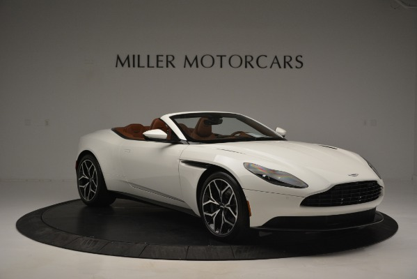 Used 2019 Aston Martin DB11 V8 Convertible for sale Sold at Rolls-Royce Motor Cars Greenwich in Greenwich CT 06830 11