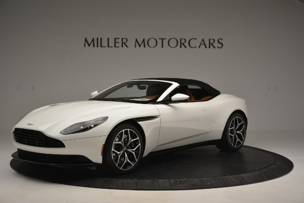 Used 2019 Aston Martin DB11 V8 Convertible for sale Sold at Rolls-Royce Motor Cars Greenwich in Greenwich CT 06830 14
